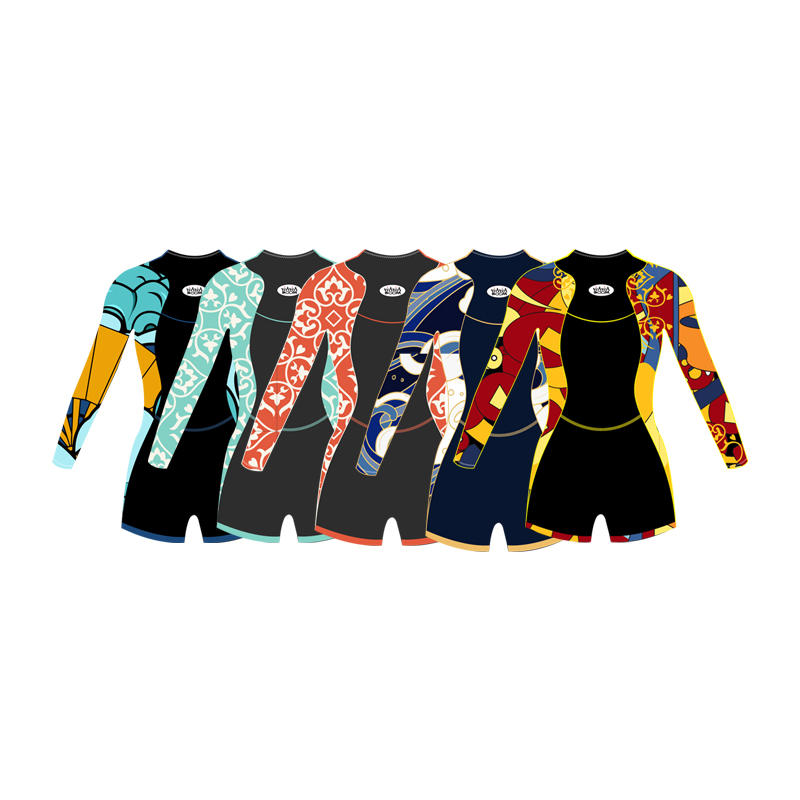 High Quality neoprene wetsuit  surfing suits diving suit swimming suit for women