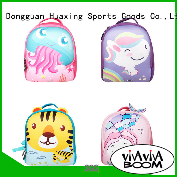 Huaxing fashion design neoprene tote bag factory price for children