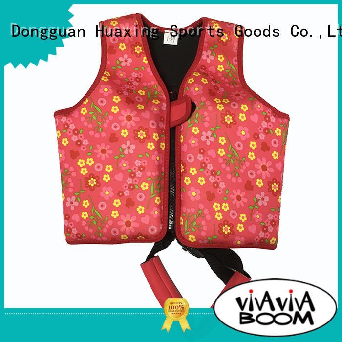 Huaxing design infant swim vest vendor for swimming