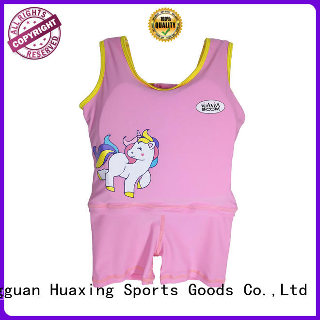 Huaxing flotation girls swim vest shop now for swimming