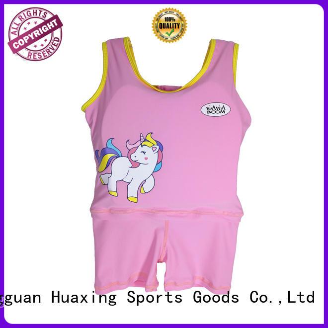 Huaxing flotation girls swim vest shop now for swimming