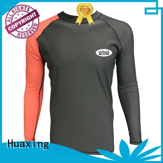 Huaxing years rash guard for women from manufacturer for bodyboarding