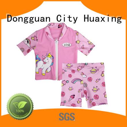 Huaxing comfortable ladies rash guard from china for kitesurfing