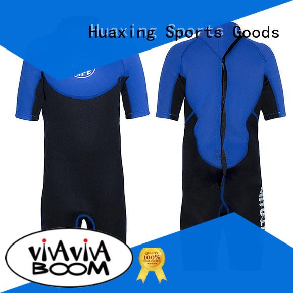 Huaxing long shorty wetsuit owner for lake activities