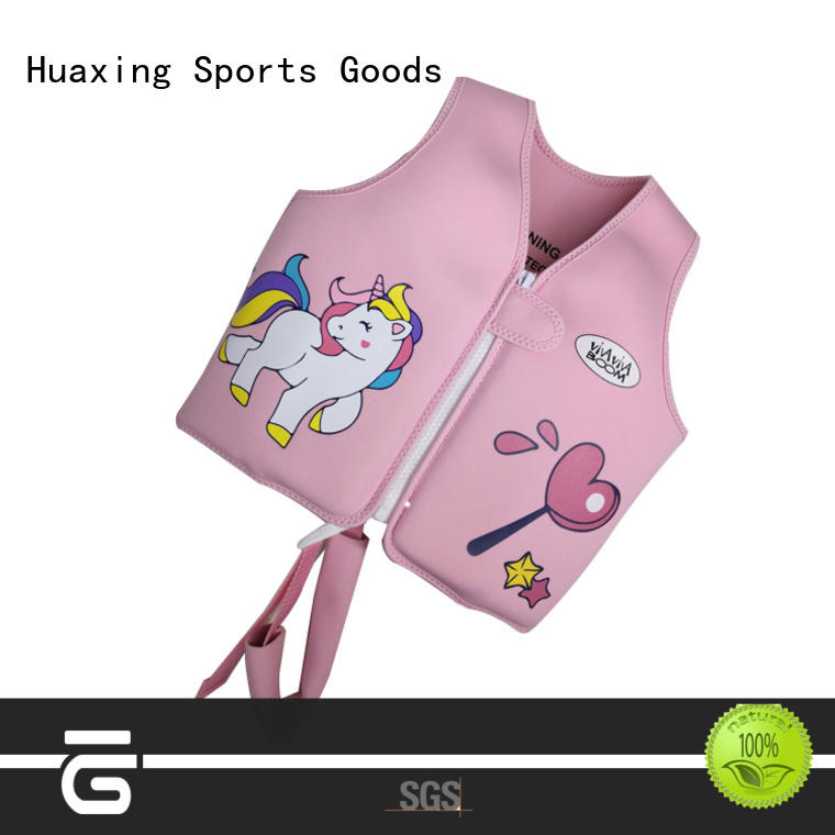 Huaxing lycra toddler swim vest from manufacturer for swimming