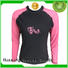 Huaxing colorful rash guard long sleeve producer for surfing