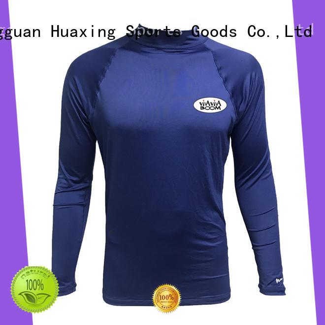 Huaxing colorful rash guard long sleeve wholesale for bodyboarding