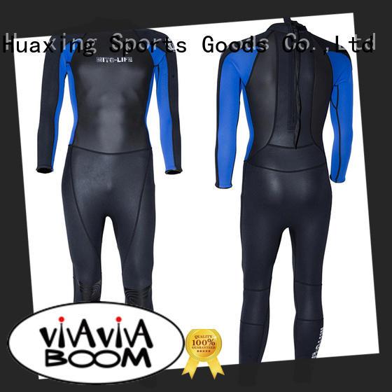 Custom top 5mm 7mm surfing neoprene fabric printing triathlon spearfishing diving surfing wetsuit