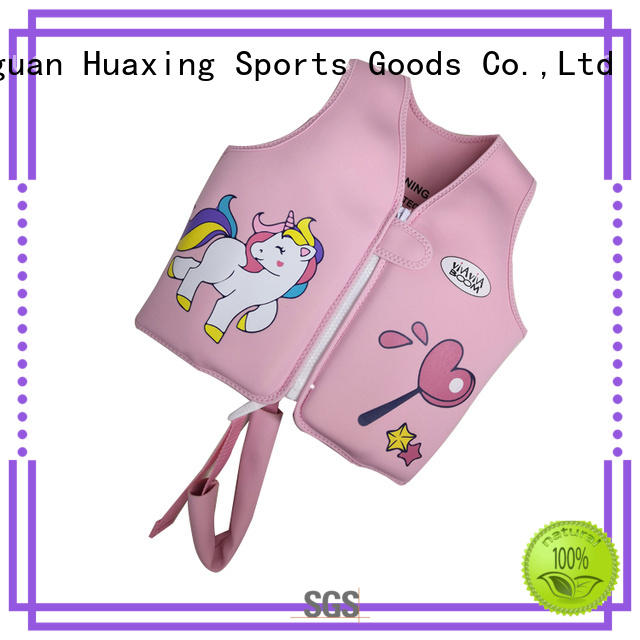 Huaxing baby swim vest from manufacturer for swimming