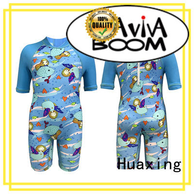 Huaxing surf ladies rash guard from china for bodyboarding