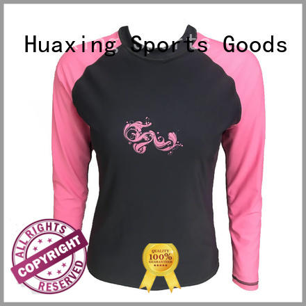 colorful girls rash guard from china for surfing