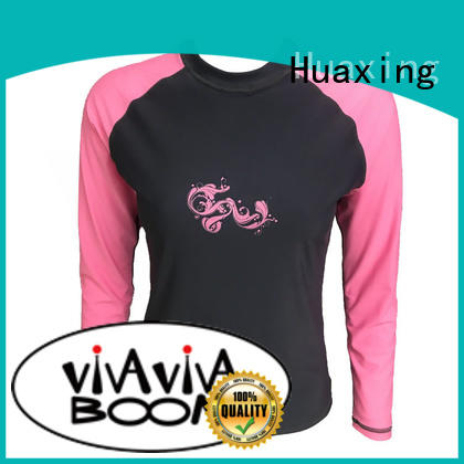 fashion design long sleeve rash guard womens design for stand up paddle surfing