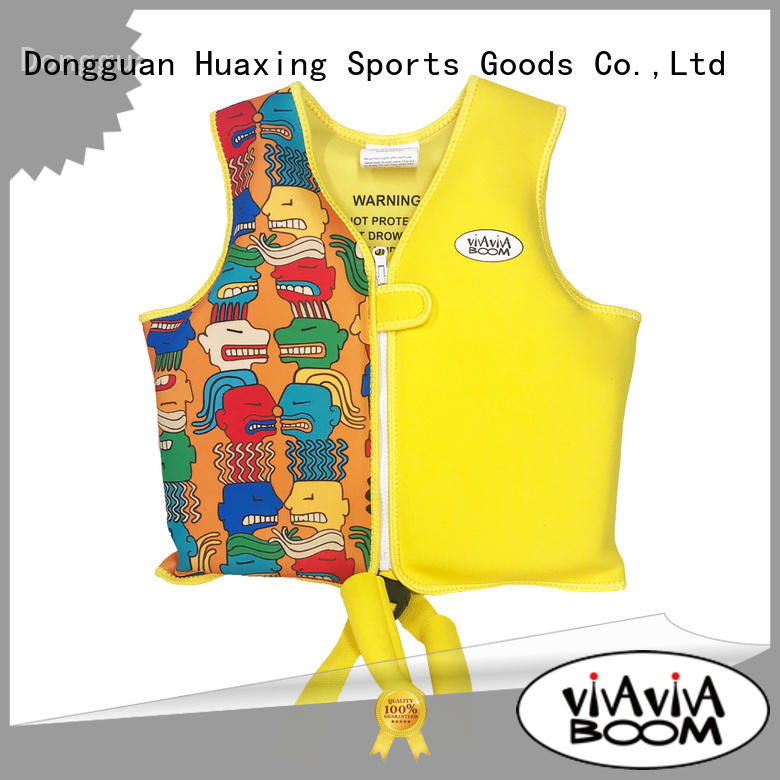 Huaxing perfect swimming life vest cute for swimming
