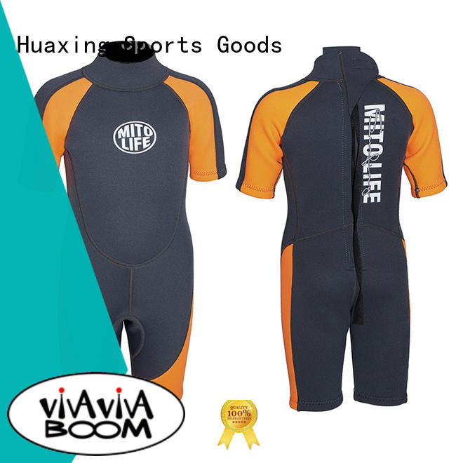 Huaxing fit surfing wetsuits producer for lake activities