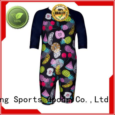Huaxing logo rash guard swimsuit from china for canoe polo