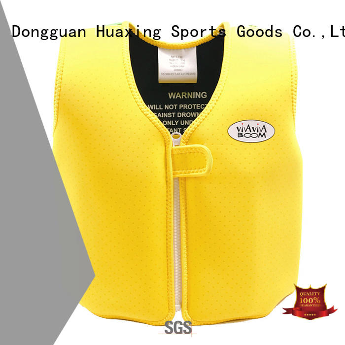 school kids swimming life jacket producer for swimming Huaxing
