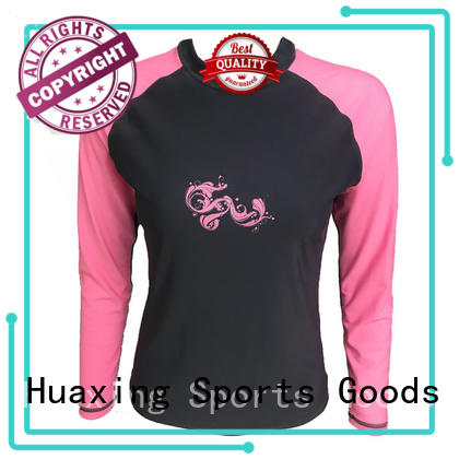 protective ladies rash guard suit in china for wakeboarding