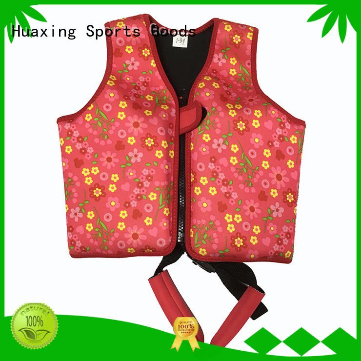 Huaxing high-reputation baby swimming life vest grab now for swimming