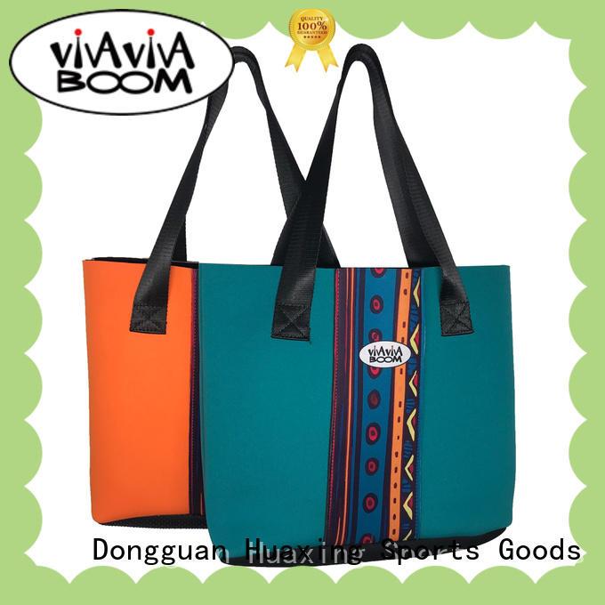 Huaxing shopping neoprene tote bag vendor for children