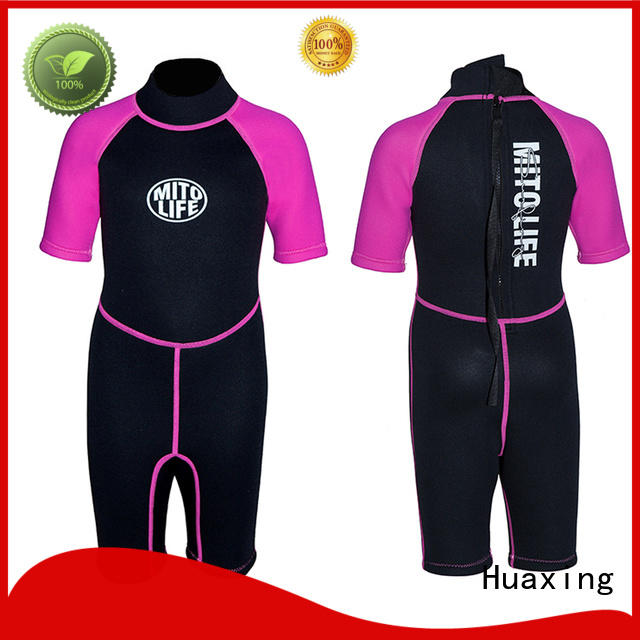 Huaxing soft womens wetsuits owner for lake activities