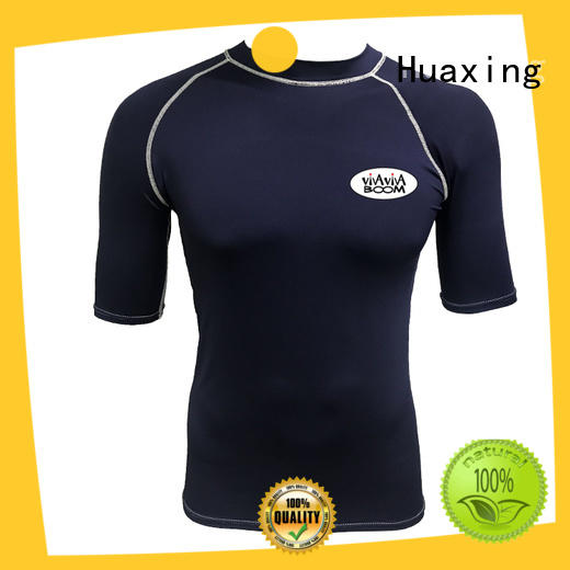 vest girls long sleeve rash guard wholesale for water survival training Huaxing