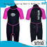 Huaxing pattern girls wetsuit for paddle sports
