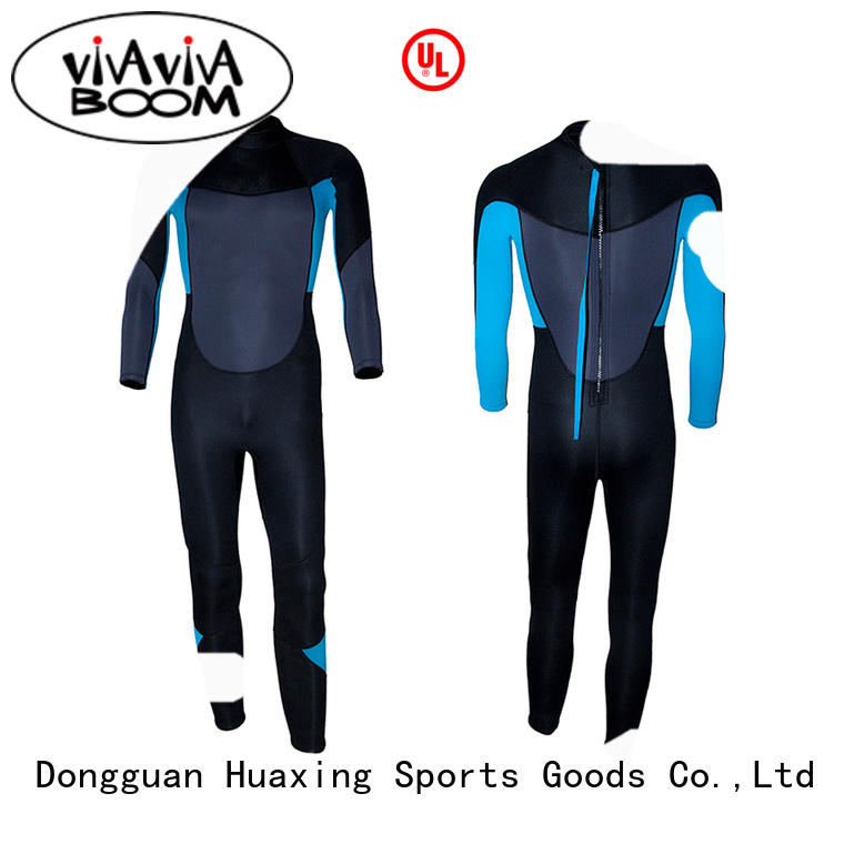 Huaxing superior wetsuit for kids logo for diving