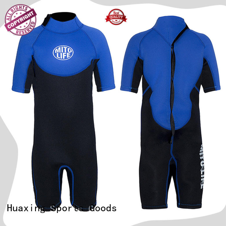 Huaxing fashion design wetsuit manufacturer for lake activities