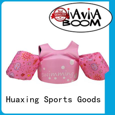 Huaxing high-quality girls swim vest bulk production for swimming