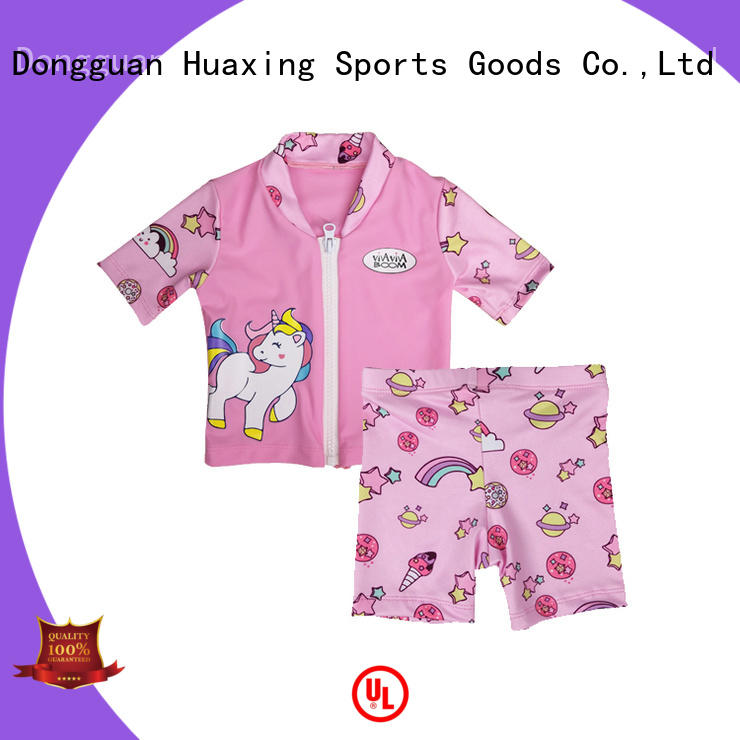 Huaxing fashion design boys rash guard dropshipping for kitesurfing