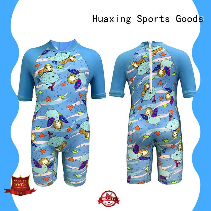 Huaxing uv long sleeve rash guard womens for kayaking