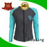 Huaxing long ladies rash guard from china for windsurfing