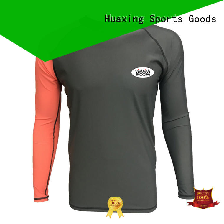 Huaxing child bjj rash guard wholesale for surfing