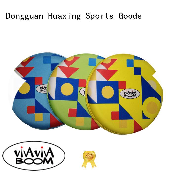 Huaxing training beach tennis rackets bulk production for sea