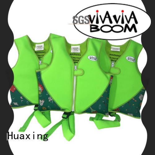 Huaxing school super soft swim vest factory price for swimming