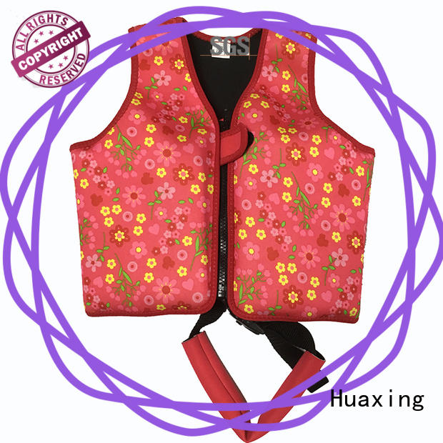 Huaxing floater swimming life jacket for toddlers producer for swimming