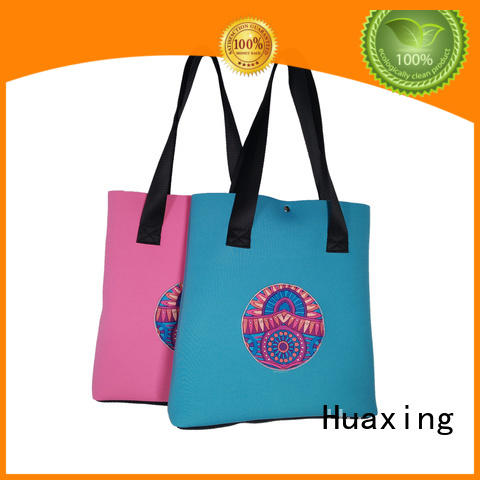 newly neoprene handbag blue for women Huaxing