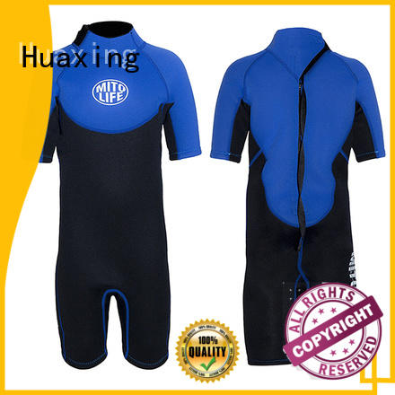 Huaxing low shorty wetsuit bulk production for paddle sports