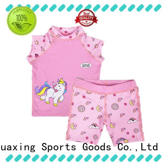 Huaxing comfortable long sleeve rash guard factory price for kitesurfing