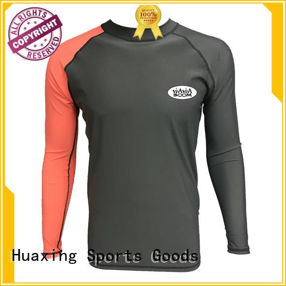 good-looking black rash guard wholesale for bodyboarding