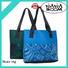 Newly designed fashion style neoprene tote beach bag girls shopping handbag