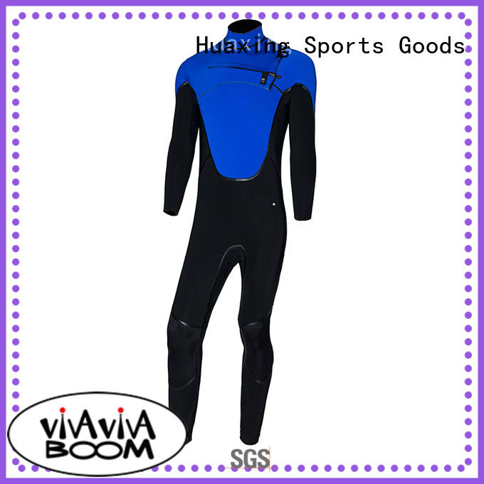 Huaxing colorful black wetsuit owner for diving