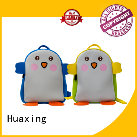 Huaxing fashion design neoprene handbag vendor for children