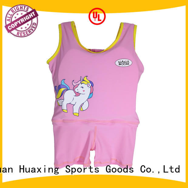Huaxing resonable price best baby swim vest bulk production for swimming