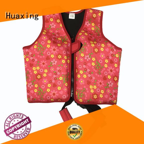 Huaxing suit kids swim vest vendor for swimming