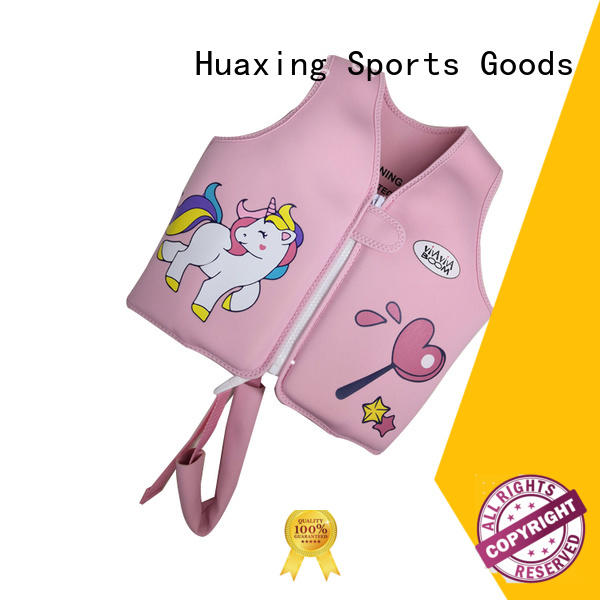 Huaxing colorful toddler swim vest for swimming
