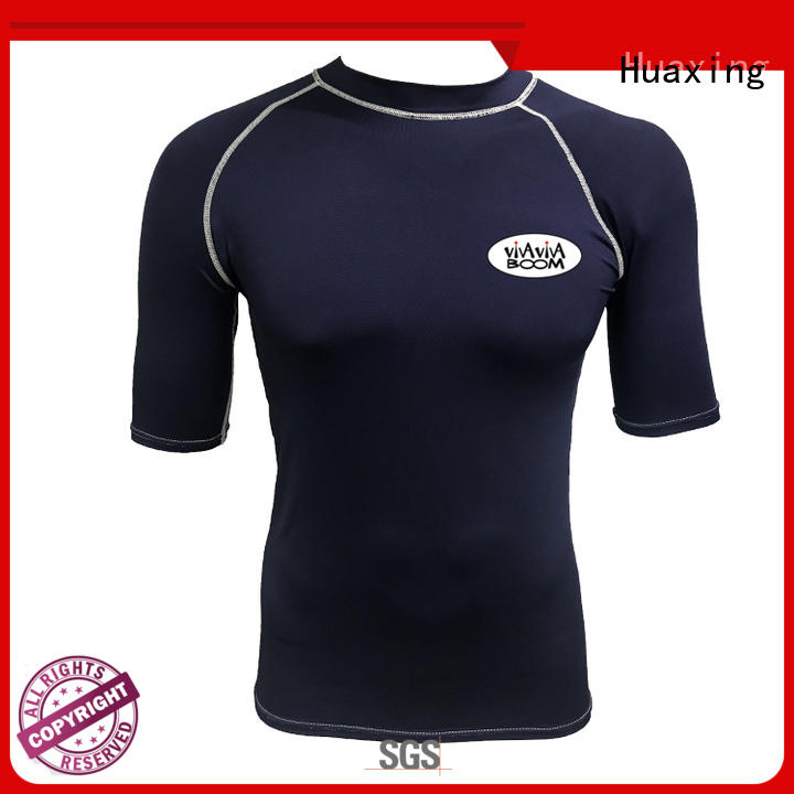 Huaxing fashion design rash guard for girls wholesale for kitesurfing