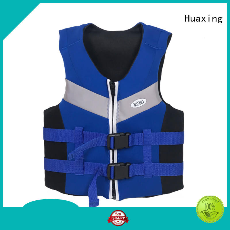 safe boys swim vest silkscreen factory price for swimming