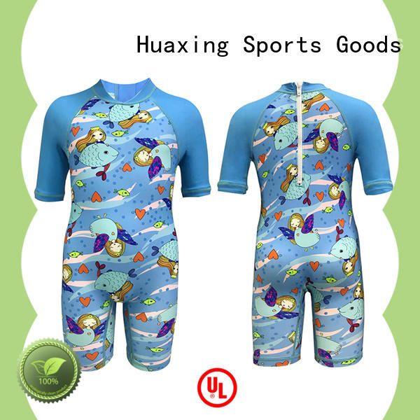 Huaxing colorful surf rash guard producer for bodyboarding