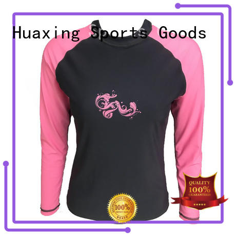 colorful girls rash guard from manufacturer for bodysurfing